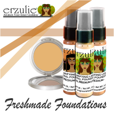 ERZULIE® Natural Foundations