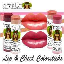 ERZULIE® Natural Lipstick and Blush Colorstick
