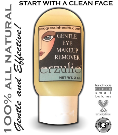 All Natural Eye Makeup Remover