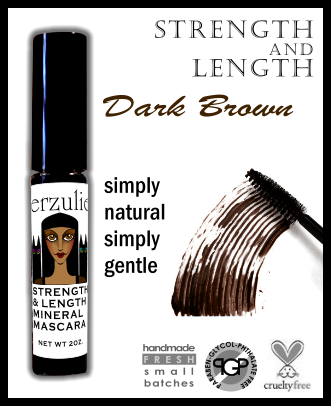 MINERAL MASCARA Dark Brown