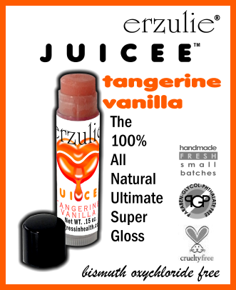 JUICEE™ LIP GLOSS  in TANGERINE VANILLA